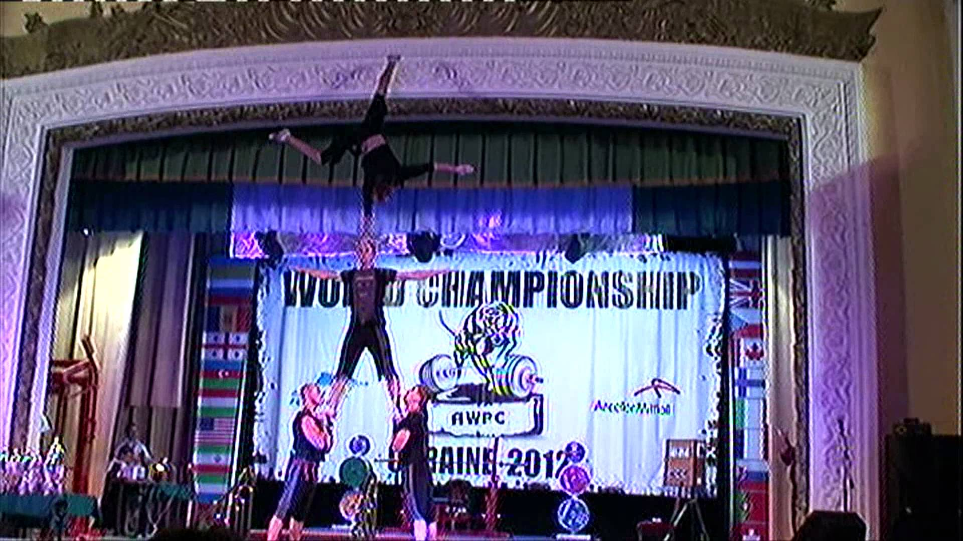 Пауэрлифтинг-Чемпионат Мира -Powerlifting — World Cup 2012 AWPC
