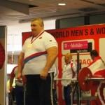 Две медали ветеранского первенства по жиму лёжа достались тяжелоатлету Виталию Морозевичу