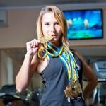Одесситка стала чемпионкой мира по поднятию штанги на бицепс
