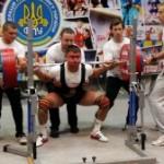 На соревнованиях по пауэрлифтингу сборная из Запорожья получила первое место